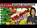Nutrition part 2#MCQ question  answers#Bengali version# Study with Piya# পুষ্টি পার্ট 2