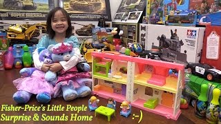 Toys for Little Girls: Fisher-Price Little People Surprise & Sounds Home Doll House Set