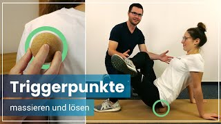 Triggerpunkte tennisball piriformis Piriformis Schmerzen