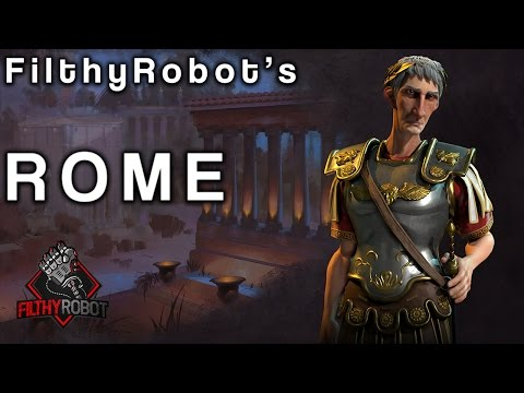 Filthy's Civ6: How Good is Trajan's Rome?