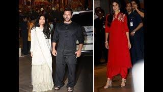 Watch: Salman Khan, Katrina Kaif, Alizeh and others perform Ganesh aarti at Arpita's residence