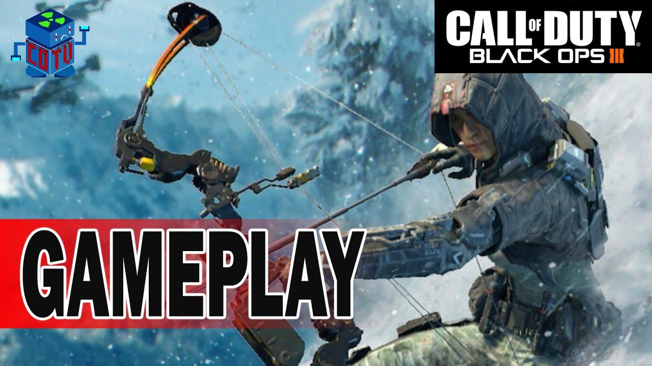 Call Of Duty Black Ops 3 Beta Outrider Shotgun Gameplay