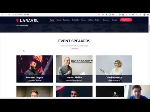 Laravel Demo-Project: Conference Event Management