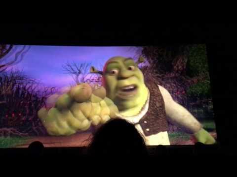 Universal Studios Shrek 4d ride