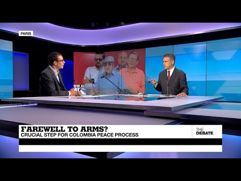 THE DEBATE - FARC bids farewell to arms? Crucial step for Colombia peace process