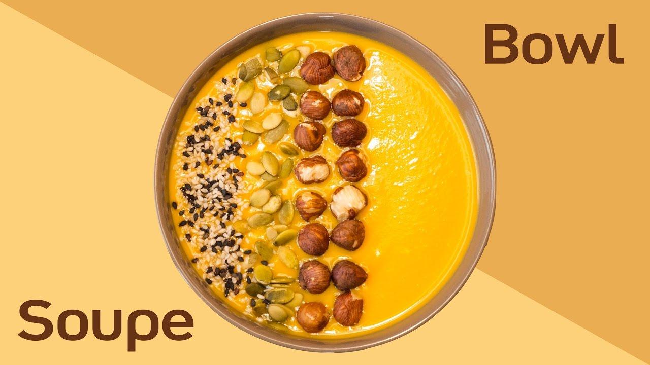 soupe bowl de courge butternut recette facile et rapide. Black Bedroom Furniture Sets. Home Design Ideas