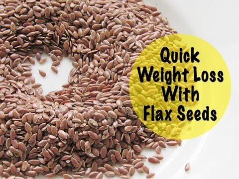 How To Lose Weight At Home Flaxseed Water Natural Remedy