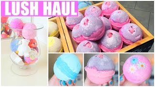 ♡Lush Haul + How I Store My Lush Products!♡ 2016