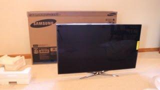 Samsung 3D LED Tv Unboxing | 60