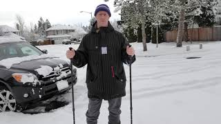 Walking in the Snow with a Prosthetic - Amputee Outdoors