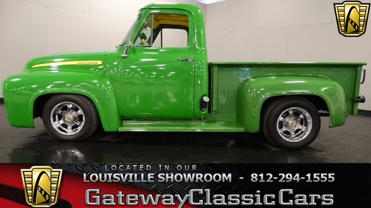 1955 Ford F100 John Deere Pickup Truck Louisville Showroom Stock 901 Youtube