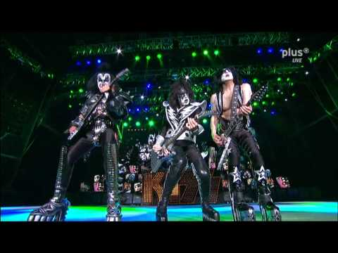 KISS  Lick It Up  Rock Am Ring 2010  Sonic Boom Over Europe Tour