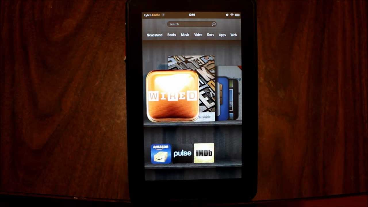 kindle fire directions manual