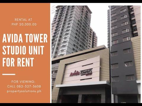 DPSRealty: Avida Towers Davao, Studio Unit Condo For Lease