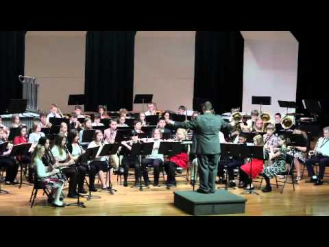 Calloway County Middle School Band - 6th Grade (2011) - The First Performance