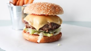 How To Make A Delicious Juicy Cheese Burger - By One Kitchen Episode 49