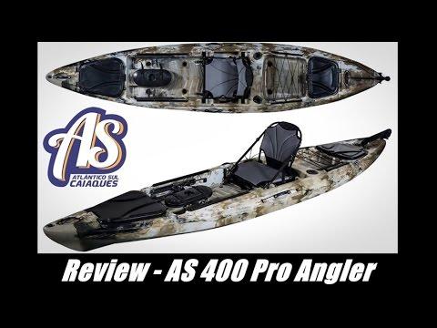 74d2b0a9d Pescaria de Caiaque - Review AS 400 Pro Angler - Lançamento Atlântico Sul  Caiaques