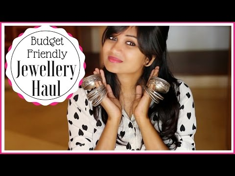 Jewellery Haul | Jewellery under Rs.500 | Rings for Rs.20? | Bangalore Haul | Indian youtuber | haul