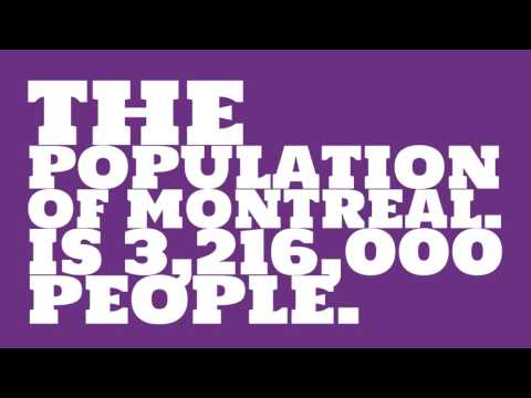 What is the land area of Montreal.?