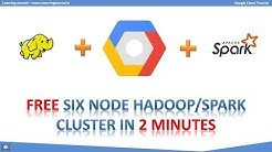 Google Cloud Tutorial - Hadoop | Spark Multinode Cluster | DataProc