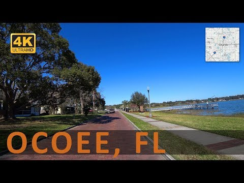 Driving around Ocoee, Florida (4k)