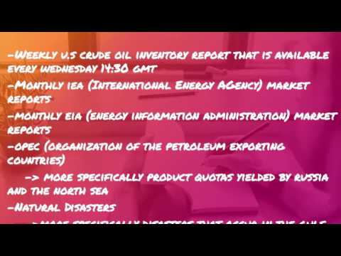 MUST WATCH!! Crude Oil Investing Tips. How to Trade Crude Oil.