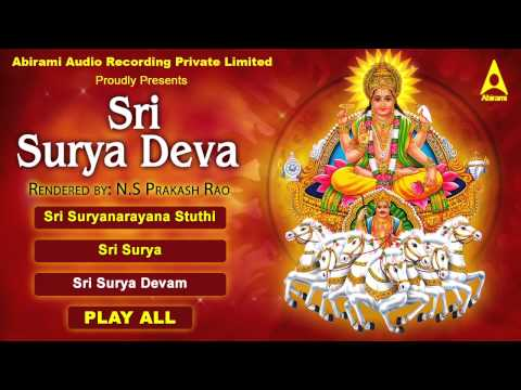 Sri Surya Deva Jukebox - Songs Of Suryan -  Tamil Devotional Songs