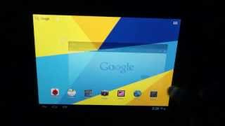 Archos 97 Titanium HD tablet + Visture V5 HD custom ROM + 2GB int. storage
