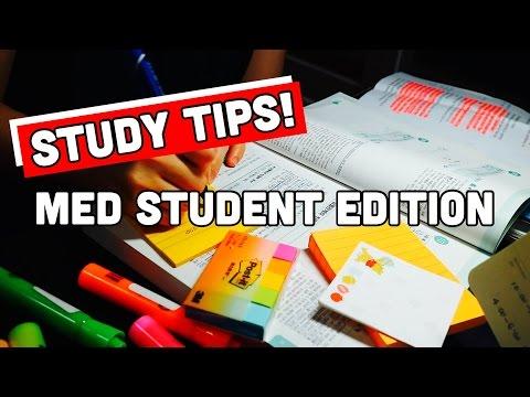Study Tips + Organization for School: Medical Student Edition | twinklinglena