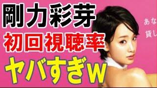剛力彩芽主演「レンタルの恋」の初回視聴率がヤバすぎるww ☆チャンネ...