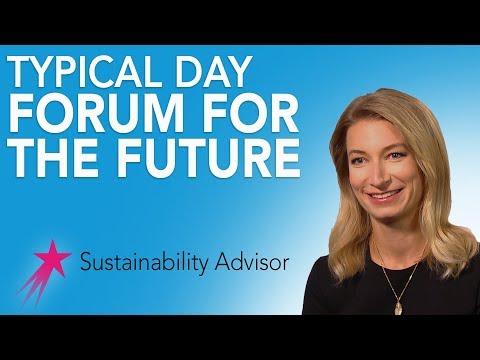 Sustainability Advisor: Typical Day - Michaela Rose Career Girls Role Model