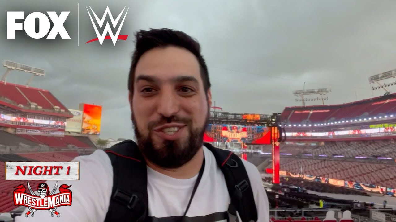 WrestleMania 37 fan experience with Ryan Satin | WWE ON FOX