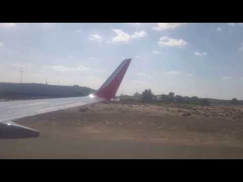 Air India Landing in Sharjah airport