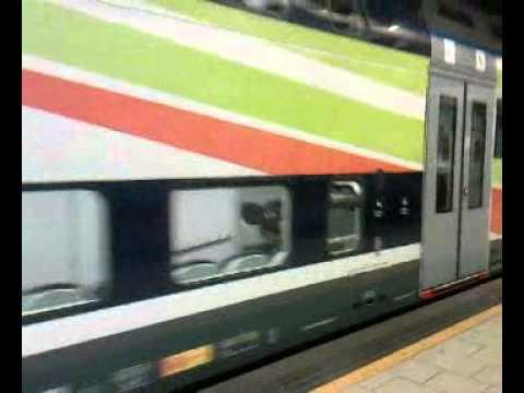 Tsr in partenza da milano porta garibaldi passante youtube - Passante porta garibaldi ...