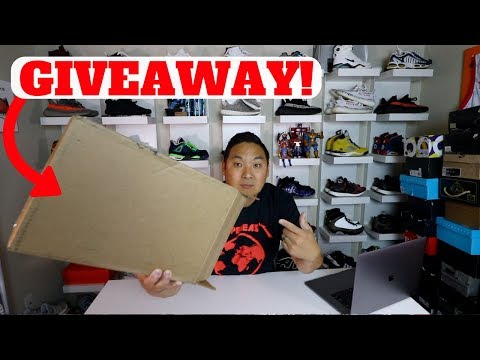 GIVING THESE $180 SNEAKERS AWAY!! FROM ONLINE SHOP YOU HAVEN'T HEARD OF!!