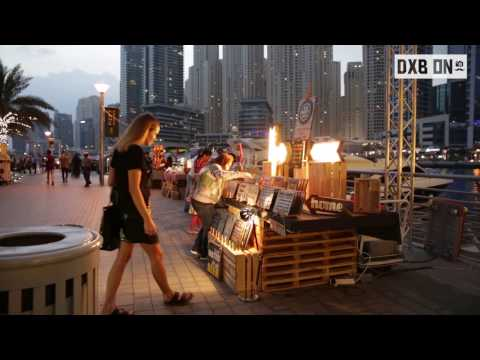 Video Review for Dubai Marina Music Festival 2016 for DXB ON