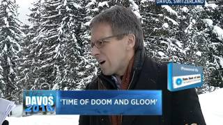 #Davos2016: Zhu Min And Ian Bremmer