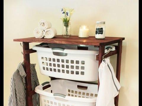 Laundry Storage Cart Youtube
