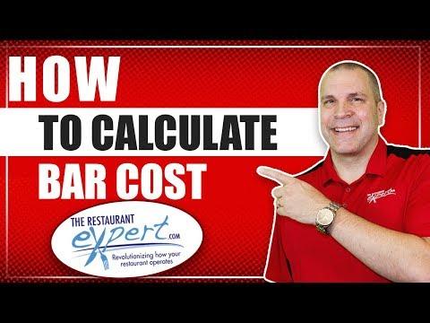Bar Costing Formula - Running A Restaurant #restaurantsystems