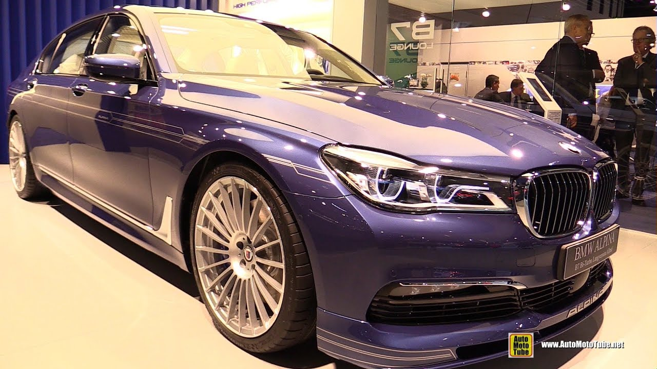 BMW Alpina B Bi Turbo AWD Exterior And Interior Walkaround - Bmw m7 alpina