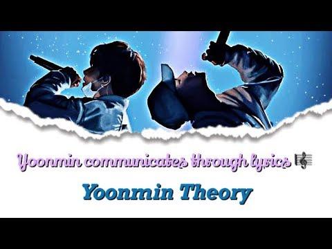 Yoonmin Theory | Yoonmin Communicating Through Lyrics!