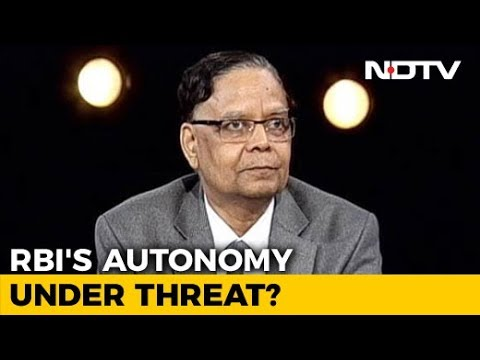 Ex-Niti Aayog Vice Chairman On Government-RBI Rift And The Road Ahead For Economy