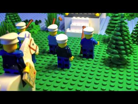 Lego Battle of Great Bridge