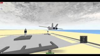 Roblox Military Flight Simulator F/A-18 Hornet Flight 2
