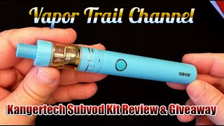 Kangertech Subvod Kit & Juice Box Eliquid Review And Giveaway