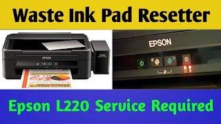 Epson L220 Reset  - how to reset