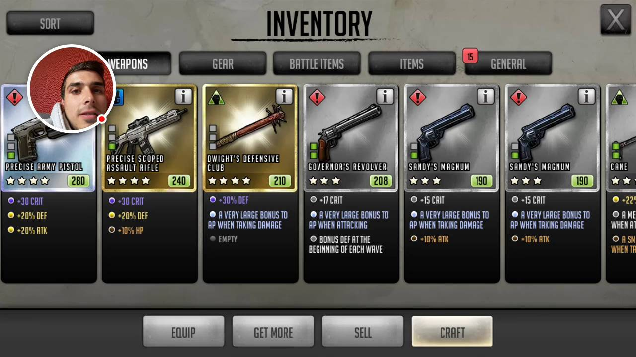 walking dead road to survival how to get 5 stars