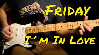 The Cure - Friday I'm In Love cover