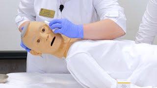 Уход за ротовой полостью глазами носом и волосами тяжелобольного