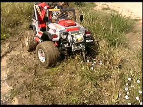 Modified Power Wheels Millino Jr Peg Perego Gaucho 4x4